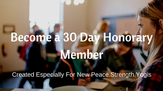 30-day Honorary Membership